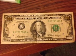 The Benjamin in question.